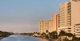 Residence Inn by Marriott Fort Lauderdale Intracoastal/Il Lugano - Fort Lauderdale - Bâtiment