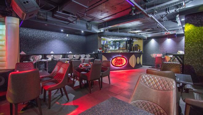 Delmon Palace Hotel - Dubai - Bar