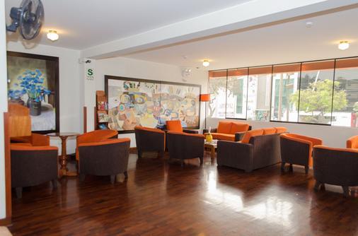 米拉弗雷斯中心套房酒店 - 利馬 - 利馬 - 休閒室