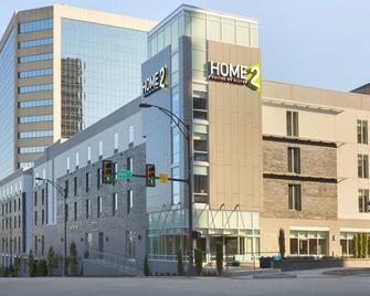 Home2 Suites by Hilton Greenville Downtown - Greenville - Edificio