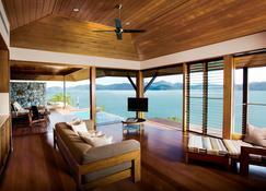 Qualia - Hamilton Island - Huiskamer
