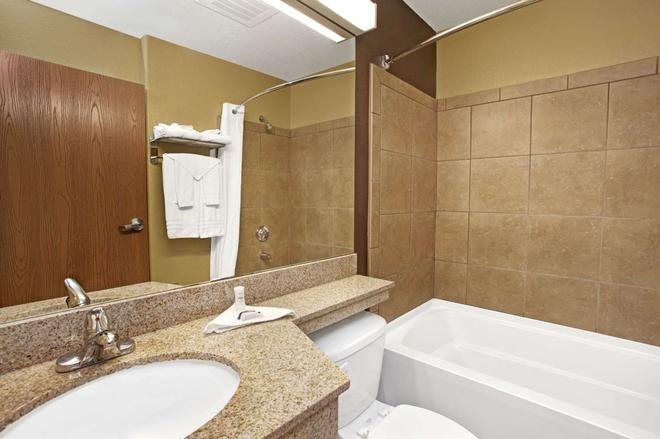 Microtel Inn & Suites by Wyndham Cartersville - Cartersville - Salle de bain