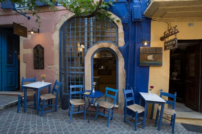 Nostos Hotel - Chania (Kreta) - Innenhof
