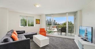 Bridge and Sails - Sydney - Obývací pokoj