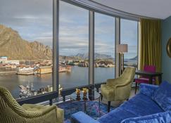Thon Hotel Lofoten - Svolvær - Living room