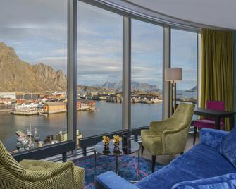 Thon Hotel Lofoten - Svolvær - Wohnzimmer