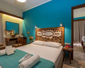 Aris Hotel - Palaiochora - Спальня