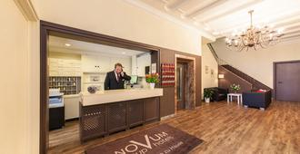 Novum Hotel Maxim Düsseldorf City - Düsseldorf - Front desk