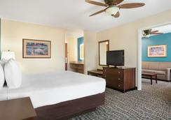 埃文斯維爾東貝蒙特套房酒店 - 伊凡維爾 - 埃文斯維爾(印第安納州) - 臥室