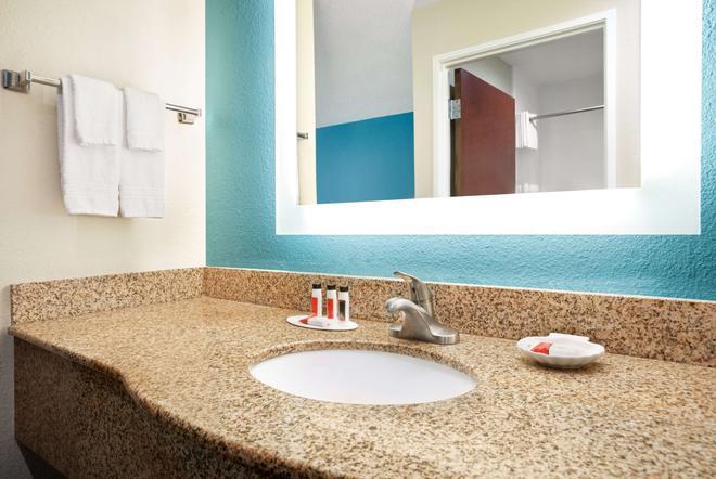 埃文斯維爾東貝蒙特套房酒店 - 伊凡維爾 - 埃文斯維爾(印第安納州) - 浴室