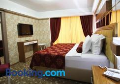 Grand Corner Boutique Hotel - İzmir - Yatak Odası
