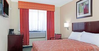 Super 8 By Wyndham Long Island City Lga Hotel - Queens - Schlafzimmer