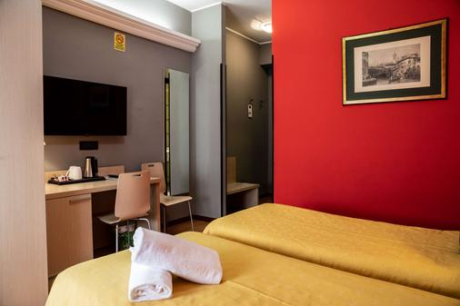 Hotel Berlino - Milan - Bedroom