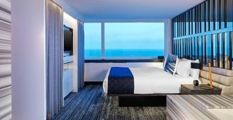 W Chicago - Lakeshore - שיקאגו - חדר שינה