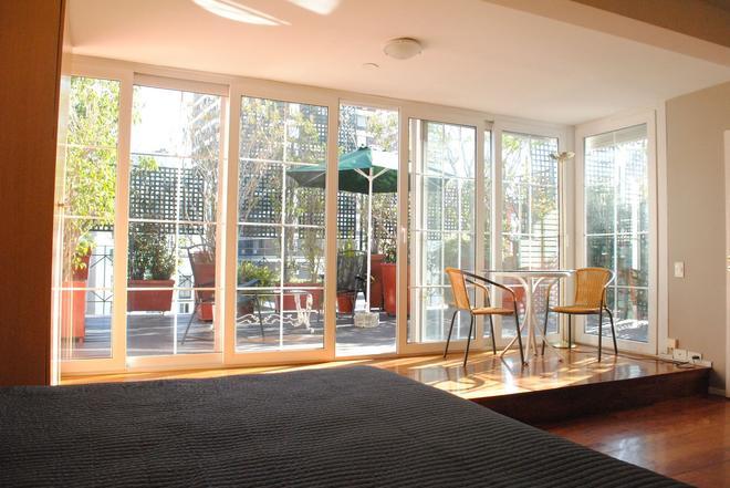 里昂納多達芬奇公寓酒店 - 布宜諾斯艾利斯 - 布宜諾斯艾利斯 - 臥室