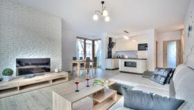 Dom & House - Apartments Sopot Kamienny Potok - Sopot - Living room