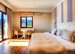Enastron View Hotel - Aposkepos - Bedroom