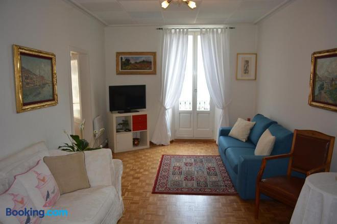 Al Battello - Morcote - Living room