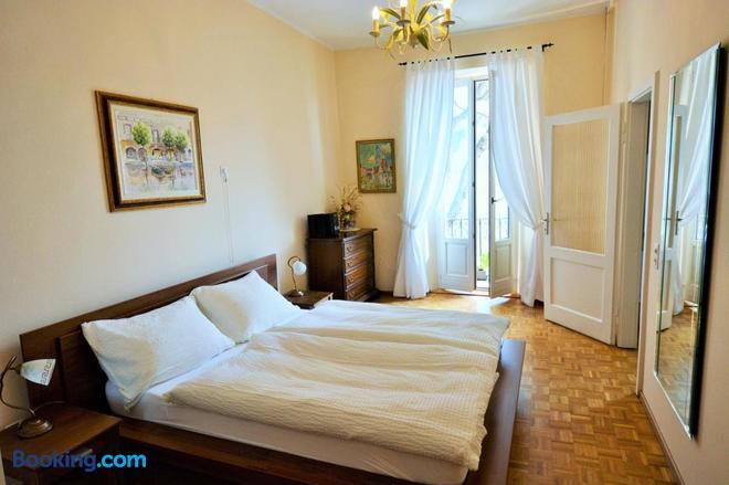 Al Battello - Morcote - Bedroom