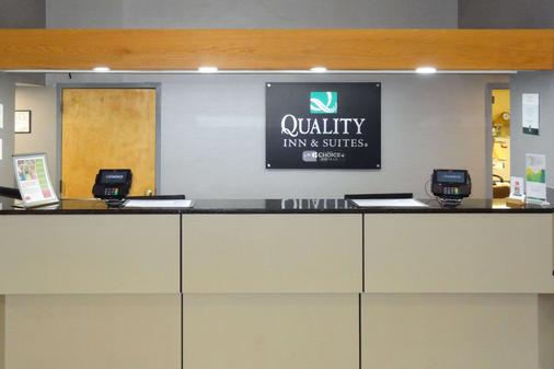 Quality Inn and Suites Raleigh North - Raleigh - Lễ tân