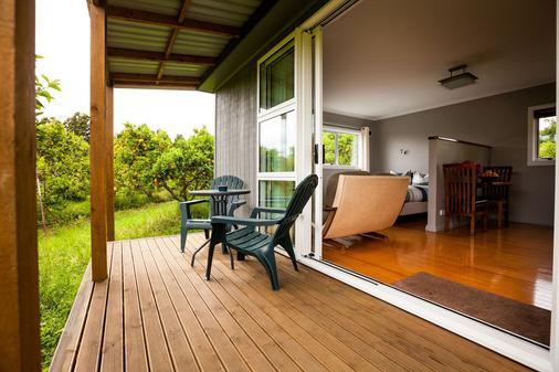 Relax a Lodge - Kerikeri - Patio