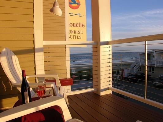 Alouette Beach Resort - Old Orchard Beach - Balcón