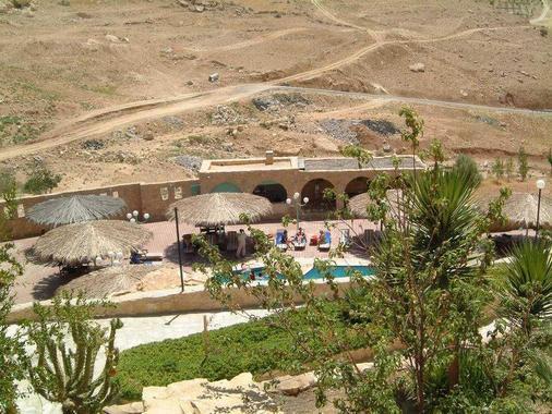 泰貝特扎曼度假飯店 - 瓦迪穆薩 - 游泳池