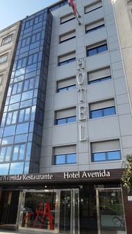 Hotel Avenida - Pontevedra - Building
