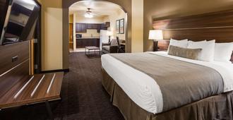 Best Western Plus Hill Country Suites - סן אנטוניו - חדר שינה
