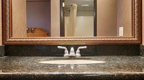 貝斯特韋斯特普拉斯碼頭海濱旅館 - 麥基諾市 - 麥基諾城 - 浴室