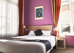 Brit Hotel Aux Sacres - Reims - Schlafzimmer