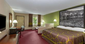 Super 8 by Wyndham Eureka Springs - Eureka Springs - Bedroom