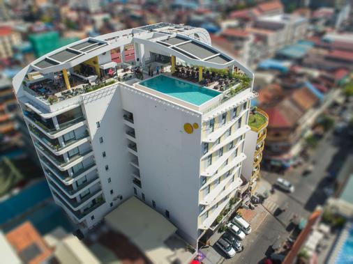 Sun & Moon, Urban Hotel - Phnom Penh - Bâtiment