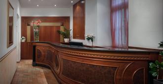 Hotel Galileo Prague - Prague - Front desk