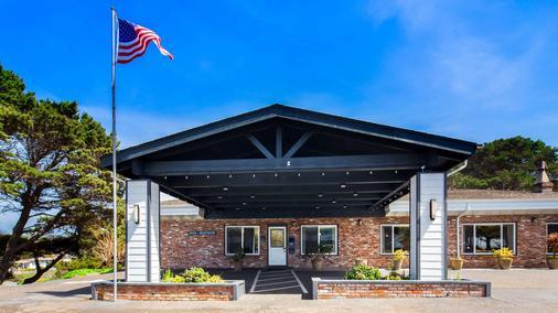 Best Western Vista Manor Lodge - Fort Bragg - Building