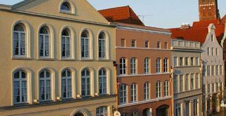 Top Cityline Klassik Altstadt Hotel - Lübeck - Bâtiment