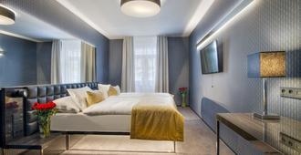 Hotel Mucha - פראג - חדר שינה