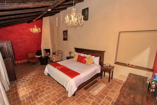 Hotel San Marcos - ซาน คริสโตบัล เด ลาส กาซาส - ห้องนอน