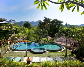 Teras Bali Rice Terrace Bungalows and Spa - Sidemen - Pool