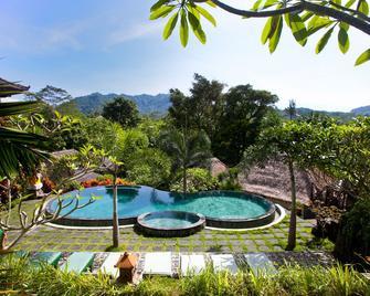 Teras Bali Rice Terrace Bungalows and Spa - Sidemen - Бассейн