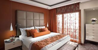 מלון קרלטון - תל אביב - חדר שינה