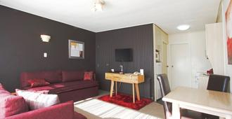 George Street Motel Apartments - Dunedin - Sala de estar