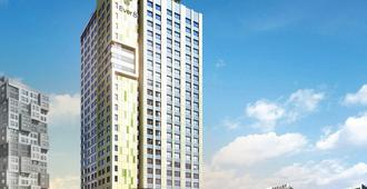 Shinchon Ever8 Serviced Residence - Seúl - Edificio