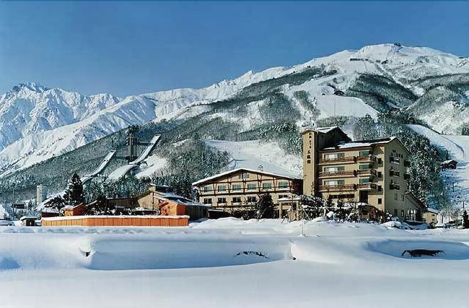 Hotel Goryukan - Hakuba - Gebouw