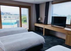 The Best Jeju Seongsan Hotel - Seogwipo - Slaapkamer