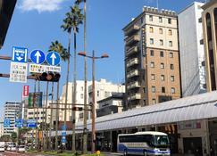 Apa Hotel Miyazakieki-Tachibanadori - Miyazaki - Widok na zewnątrz