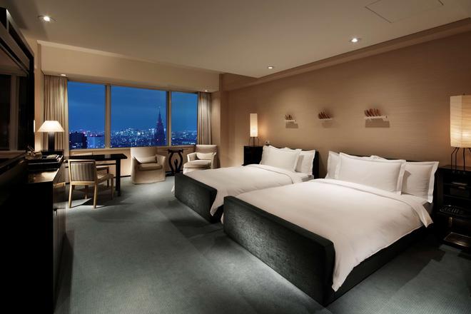 東京柏悅酒店 - 東京 - 臥室