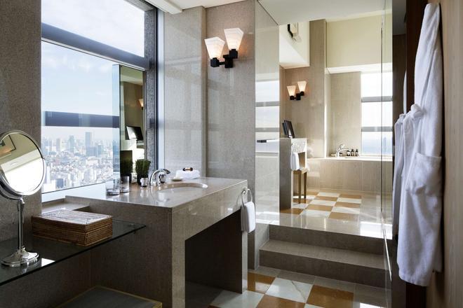 東京柏悅酒店 - 東京 - 浴室