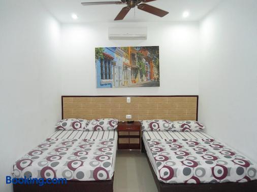 馬格達雷納酒店 - 喀他基那 - 卡塔赫納 - 臥室
