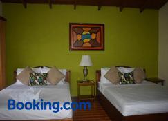 Hotel Roca Negra Del Arenal - La Fortuna - Bedroom